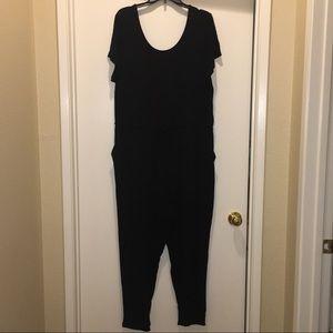 ♦️BNC♦️Black Knit Jumpsuit